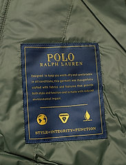 Polo Ralph Lauren - Water-Repellent Quilted Jacket - quilted jackets - company olive - 6
