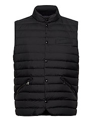 Water-Resistant Down Vest - POLO BLACK