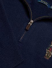 Polo Ralph Lauren - WOOL CASHMERE-LSL-SWT - half zip jumpers - hunter navy - 2
