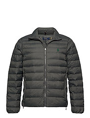 Packable Quilted Jacket - CHARCOAL GREY