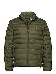 Packable Quilted Jacket - DARK LODEN