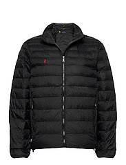 Packable Quilted Jacket - POLO BLACK