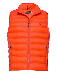 Packable Quilted Vest - BITTERSWEET