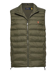 Packable Quilted Vest - DARK LODEN