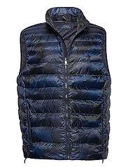 RECYCLED NYLON-TERRA VEST - NAVY SURPLS CAMO