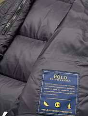 Polo Ralph Lauren - Color-Blocked Down Jacket - padded jackets - company olive/ po - 7