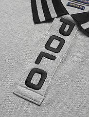 Polo Ralph Lauren - Custom Slim Fit Mesh Polo - short-sleeved polos - andover heather - 3