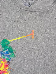 Polo Ralph Lauren - 26/1 JERSEY-SSL-TSH - short-sleeved t-shirts - andover heather/t - 2