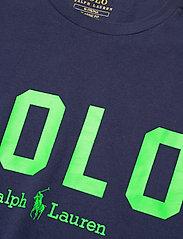 Polo Ralph Lauren - 26/1 JERSEY-SSL-TSH - short-sleeved t-shirts - french navy/neon - 2