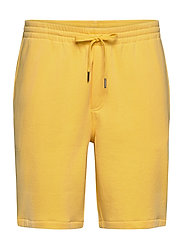 Cotton-Blend-Fleece Short - FALL YELLOW/C7315