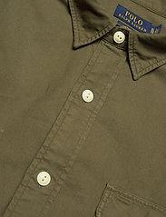 Polo Ralph Lauren - GD OXFORD-LSL-SPS - basic shirts - defender green - 3
