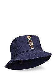Polo Bear Chino Bucket Hat - NEWPORT NAVY