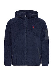 Fleece Full-Zip Hoodie - CRUISE NAVY