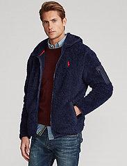 Polo Ralph Lauren - Fleece Full-Zip Hoodie - basic-sweatshirts - cruise navy - 0