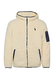 Fleece Full-Zip Hoodie - WINTER CREAM