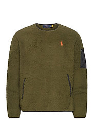 Fleece Utility Pullover - COMPANY OLIVE
