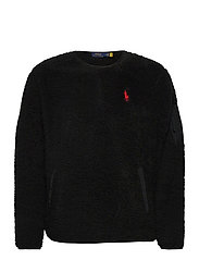 Fleece Utility Pullover - POLO BLACK