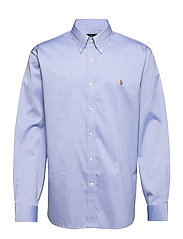Classic Fit Easy Care Oxford - 1021P TRUE BLUE/W