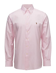 Classic Fit Easy Care Oxford - 1021S PINK/WHITE