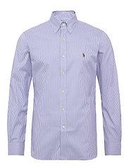 Slim Fit Striped Oxford Shirt - 3155B BLUE/WHITE