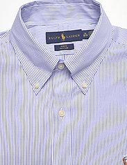 Polo Ralph Lauren - Slim Fit Striped Oxford Shirt - business shirts - 3155b blue/white - 3