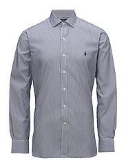 Slim Fit Easy Care Dress Shirt - 2231 NAVY/WHITE