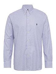 Custom Fit Tattersall Shirt - 3138A COBALT BLUE
