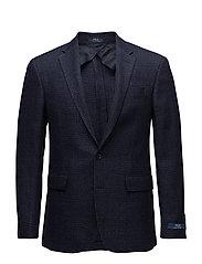 Polo Glen Plaid Sport Coat - NAVY AND BLACK
