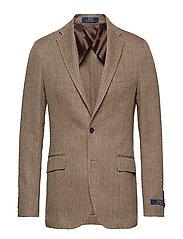 Morgan Herringbone Sport Coat - BROWN AND TAN
