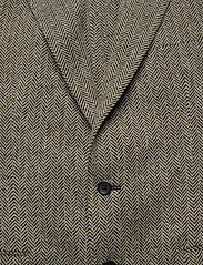 Polo Ralph Lauren - Soft Herringbone Sport Coat - enkelknäppta kavajer - black/cream - 2