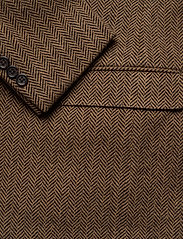 Polo Ralph Lauren - Soft Herringbone Sport Coat - enkelknäppta kavajer - brown/tan - 4