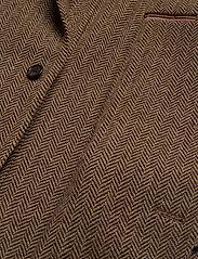 Polo Ralph Lauren - Soft Herringbone Sport Coat - enkelknäppta kavajer - brown/tan - 5