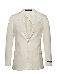 Polo Soft Linen Sport Coat - LIGHT CREAM