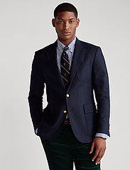Polo Ralph Lauren - Polo Stretch Flannel Blazer - enkelknäppta kavajer - navy - 0