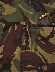 Polo Ralph Lauren - Polo Unconstructed Camo Cricket Blazer - single breasted blazers - elmwood camo - 3