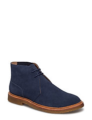 Karlyle Suede Chukka Boot - MIDNIGHT