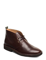SMOOTH LEATHER-TALAN CHUKKA-BO-CSL - POLO BROWN