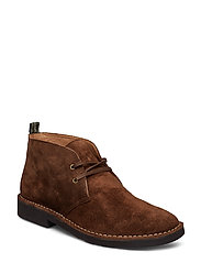Talan Suede Chukka Boot - CHOCOLATE BROWN