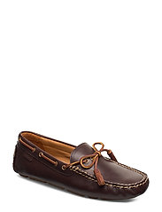 SMOOTH LEATHER-ANDERS LOAFR-SO-DRV - POLO BROWN