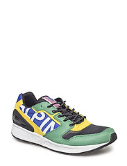 Train 100 Tech-Suede Sneaker - BRIGHT ROYAL/ENGL