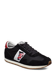 Train 90 Sneaker - BLACK/RED