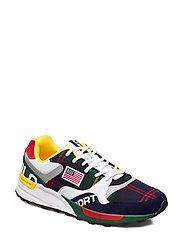 Trackster 100 Wool Sneaker - CRUISE NAVY/RL200