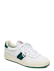 Court Leather Sneaker - WHITE/KELLY GREEN