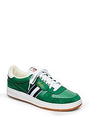 Court Leather Sneaker - STUART GREEN/NEWP