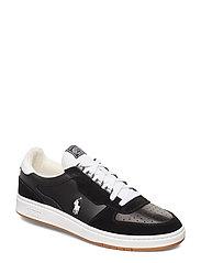 Court Leather Sneaker - BLACK/WHITE PP