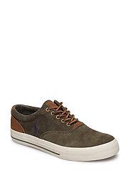 Vaughn Corduroy Sneaker - MILITARY GREEN