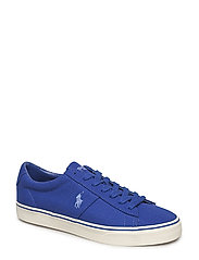 Sayer Canvas Low-Top Sneaker - HERITAGE ROYAL