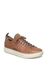 Dunovin Leather Sneaker - POLO TAN
