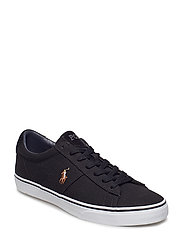 Sayer Canvas Sneaker - BLACK