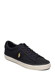 Sayer Canvas Sneaker - BLACK/GOLD PP